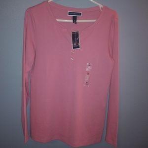 Karen Scott Pink Shirt